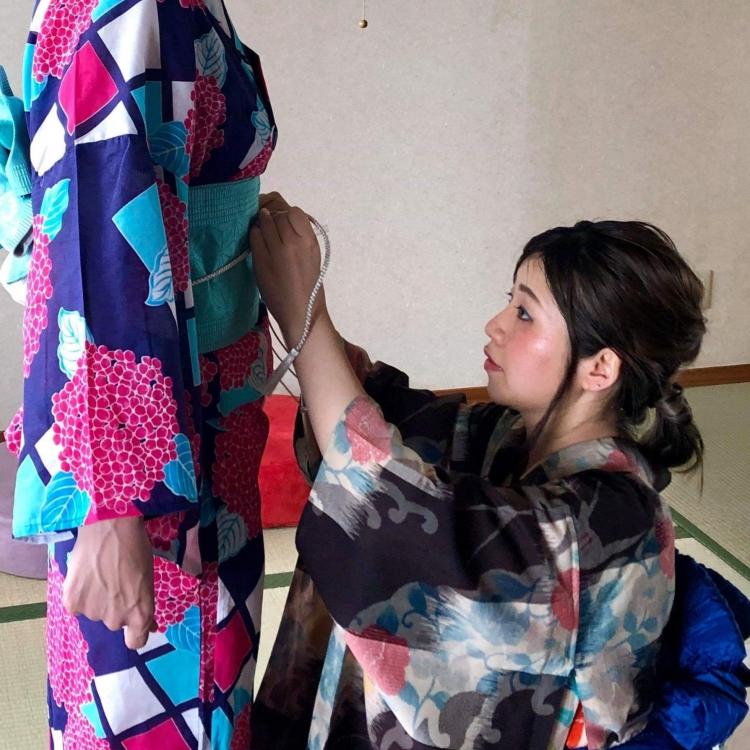 Kimono stylist Blanca